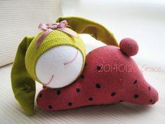 115號襪娃草莓兔 (3)