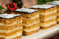Sweets Cake, Cookie Desserts, Holiday Desserts, No Bake Desserts, Cookie Recipes, Dessert Recipes, Sandwich Cake, Bread Cake, Christmas Baking