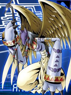 Anubimon Digimon Collectors card