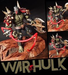 War Hulk custom action figure from the Marvel Legends series using ML BAF Gladiator Hulk as the base, created by L&A's Customs. Xman Marvel, Hulk Marvel, Gladiator Hulk, Banner Hulk, Incredible Hulk, Amazing, Arm Armor, Custom Action Figures, Toys Shop