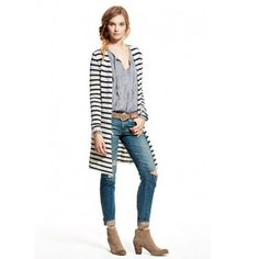 Ziabird  Image of Selen Striped Cashmere Sweater by Calypso St. Barth
