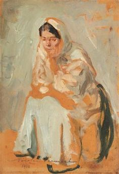 Gypsy Woman (Study) - Nicolae Vermont