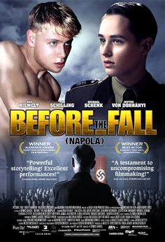 Directed by Dennis Gansel.  With Max Riemelt, Tom Schilling, Devid Striesow, Jonas Jägermeyr. In 1942, Friedrich Weimer's boxing skills get him an appointment to a National Political Academy (NaPolA) - high schools that produce Nazi elite. Over his father's objections, Friedrich enrolls, seeing this as his ticket out of factory life to university and a good salary. During his year in seventh column (fifth form), this innocence is altered as Friedrich encounters hazing, cruelty, death, and...