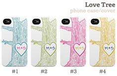 Love Tree iPhone case by Plum Street Prints