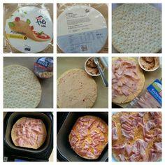 Pizzaboden  glutenfrei. Mit Ofensnack bestreichen. Schinken  drauf. Für 25 min in den Brotbackautomaten. Super yummie lecker!!!                                                         ☆ Lisa freundeskreis Projekt ☆