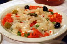 Esqueixada de bacallà - typical Catalan food
