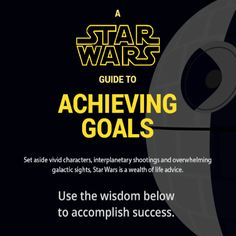 Star Wars Inspirational Quotes to Achieve Your Goals [by Essay Tigers via #Tipsographic]. More at tipsographic.com