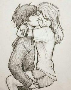 Couple Drawings Tumblr, Romantic Couple Pencil Sketches, Cute Couple Sketches, Cute Couple Art, Drawings Of Couples, Hipster Drawings, Drawings Of People Kissing, Sketches Of Love, Pencil Art Drawings