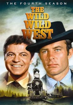 "The Wild Wild West - American TV series ran on CBS for 4 seasons (104 episodes) from1965 to 1969. 2 TV movies were made w/ original cast in '79 & '80, and the series was adapted for a motion picture in 1999.  Developed at a time when the TV western was losing ground to the spy genre and utilizing scientific fiction, this show was conceived by its creator, Michael Garrison, as ""James Bond on horseback.  Starring Robert Conrad, Ross Martin. (Wiki) ... clic pic for more info"