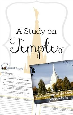 Love this Study Journal on LDS temples- really got me thinking.