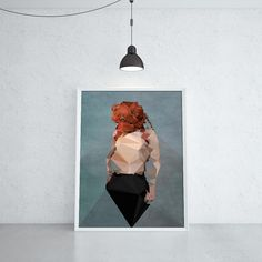 ORANGEHEADER (KUBISTIKA Modern cubism Art | by BORIS DRASCHOFF)