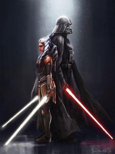 still so sad, because I'm pretty sure Ahsoka died in the last episode of season two of Star Wars Rebels.I'm still so sad, because I'm pretty sure Ahsoka died in the last episode of season two of Star Wars Rebels. Star Wars Rebels, Star Wars Film, Star Wars Clone Wars, Star Wars Fan Art, Star Wars Poster, Star Trek, Darth Vader, Anakin Vader, Anakin Skywalker