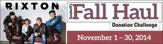 The Fall Haul Donation Challenge in Wisconsin runs November 1-30!