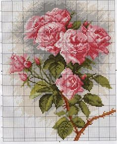 This Pin was discovered by Yas Funny Cross Stitch Patterns, Cute Cross Stitch, Cross Stitch Bird, Cross Stitch Flowers, Cross Stitch Charts, Cross Stitch Designs, Cross Stitching, Cross Stitch Embroidery, Rosa Shabby Chic