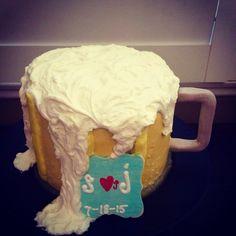 Beer themed Wedding Rehearsal Cake
