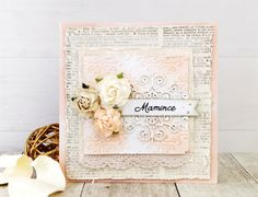 MOTHER'S DAY CARD - Vintage inspirace