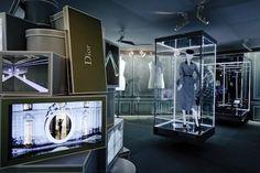 Dior exhibit at Le Bon Marché