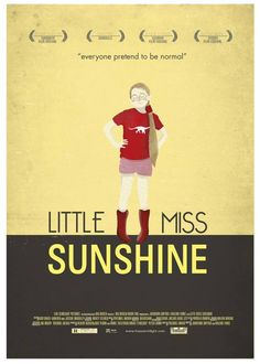 Little Miss Sunshine (2006) ~ Alternative Movie Poster by Maria Suarez Inclan #amusementphile