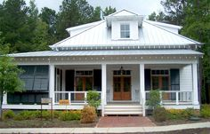 Cottage Country Farmhouse Design, The Architecture Of The Low Country Has Character All Its Own As This Vernacular Country Cottage Clearly Shows Southern Cottage House Plans ~ Best Small Southern Cottage House Plans Southern Cottage, Southern Living House Plans, Coastal Cottage, Lowcountry House Plans, Coastal House Plans, Urban Cottage, Lake Cottage, Southern Homes, Cottage House Plans