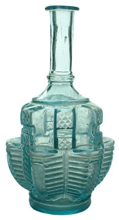Auction 26 Preview | 937 | Polished Pontil Ornate Wine Decanter