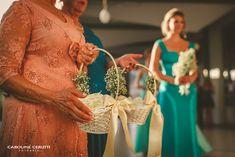 Casamento, avós floristas  Wedding, flower girls, flower grandmas DIY: cesto das pétalas