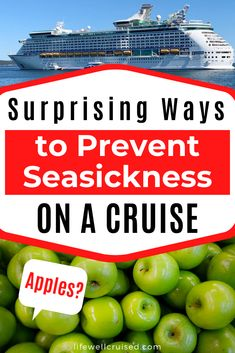 There's nothing that can ruin a cruise vacation more than having motion sickness on a cruise ship. There are natural remedies that are effective as well as seasickness medications that really work if you do get sick on your cruise. #cruise #seasickness #cruisetips #cruises Packing List For Cruise, Cruise Tips, Cruise Port, Cruise Vacation, Best Cruise Ships, Cruise Reviews, Cruise Outfits, First Time, Helpful Hints