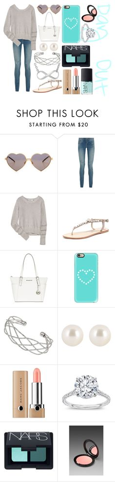 """""""Day Out"""" by the-fashiondesigner ❤ liked on Polyvore featuring beauty, Wildfox, Yves Saint Laurent, T By Alexander Wang, MICHAEL Michael Kors, Casetify, Wallis, Henri Bendel, Marc Jacobs and NARS Cosmetics"""