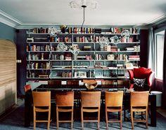 Photo: Felix odell. Conference room at Ett Hem Stockholm. Design: Lise Crafoord