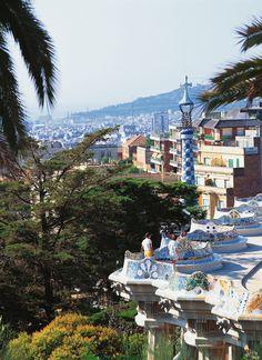 Reis til Park Guell i Barcelona med Ving