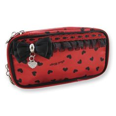 Glitzy Hearts Double Zip Cosmetic Bag Jewelry Adviser Gifts. $15.00. Save 60% Off!