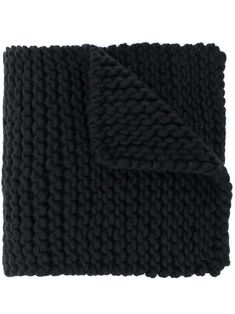 Shop I Love Mr Mittens Billie Chunky In Black from stores. Black wool Billie chunky-knit scarf from I Love Mr Mittens featuring a rectangular body, finished edges and a long length. I Love Mr Mittens, Chunky Knit Scarves, Black Wool, World Of Fashion, Luxury Branding, Women Accessories, Beanie, Shop My, Knitting
