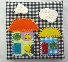 My Neighbourhood  Wall Hanging Decoration    Set by chomelkidswear