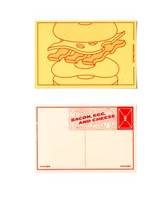 Delicious Postcards on Behance