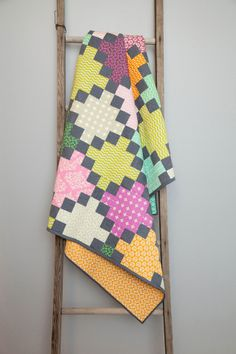 Irish Chain Quilt by Amy Gibson