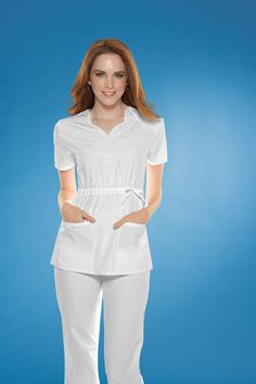 Uniform Advantage offers a vast assortment of medical scrubs and uniforms that are comparable to both Lydia's & Tafford uniforms. White Scrub Tops, White Scrubs, Medical Uniforms, Nursing Uniforms, Uniform Advantage, Cherokee Scrubs, Medical Scrubs, Nursing Clothes, African Dress