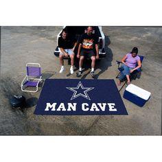 Dallas Cowboys NFL Man Cave Ulti-Mat Floor Mat