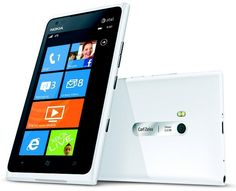 Glossy White Lumia 900. Available April 22nd. windowsphone