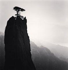 Michael Kenna - Huangshan Mountains, Study 21, Anhui, China
