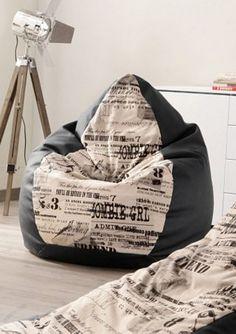 sitzsack fr chte love it pinterest room pillows and. Black Bedroom Furniture Sets. Home Design Ideas