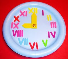 Great way to incorporate roman numerals into everyday living.  Have him create this visual.