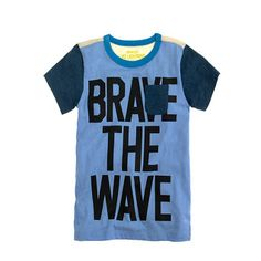 J.Crew - Boys' brave the wave tee