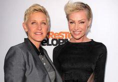 Portia de Rossi & Ellen