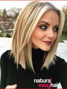 Frauen Frisuren 2019 - Stylish and Sweet Lob Haircut, Long Bob Hairstyle , Everyday Hair Styles for Wom. Long Bob Haircuts, Trendy Haircuts, Short Bob Hairstyles, Long Bob Hairstyles For Thick Hair, Ladies Hairstyles, Popular Haircuts, Trending Hairstyles, Vintage Hairstyles, Blonde Hair Styles Medium Length