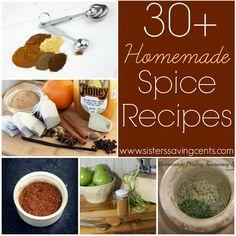 30 Homemade Spice Recipes!