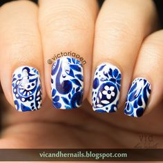 Vic and Her Nails: OMD2 Day 29 - National Pride (Catch Up!)