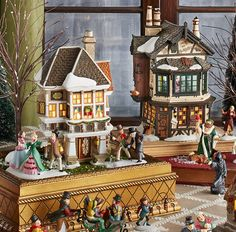 14 Things You Didn't Know About Department 56 Christmas Villages  - HouseBeautiful.com