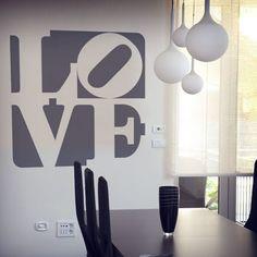 Vinilos Decorativos: letras love design #sanvalentin #valentin #decoracion #vinilo #pared #escaparate #tienda #deco #TeleAdhesivo