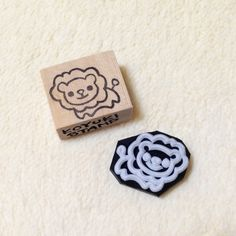 Cute Lion Rubber Stamp