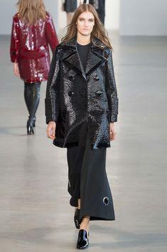 Calvin Klein Collection Fall 2015 Ready-to-Wear Fashion Show - Hannah Hansen