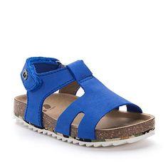 Sandalia Bio Sport de piel Azules